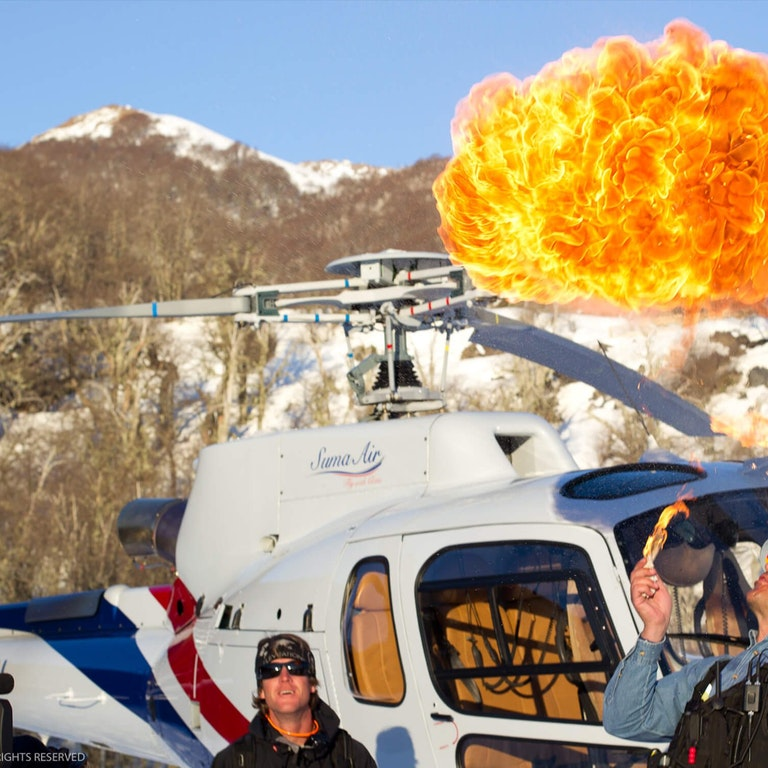 Tjb Clark 2 1 Heli Fire Ball